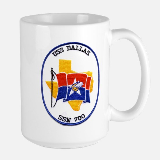 USS Dallas SSN 700 Large Mug