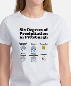 Six Degrees of Precipitation Women's T-Shirt