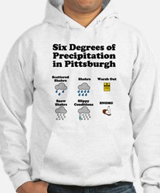 Six Degrees of Precipitation Hoodie