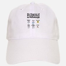 Six Degrees of Precipitation Baseball Baseball Cap
