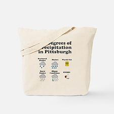 Six Degrees of Precipitation Tote Bag