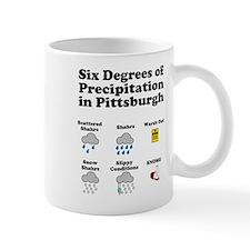 Six Degrees of Precipitation Mug