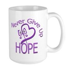Fibromyalgia Never Give Up Ho Mug