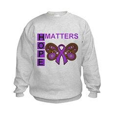 Fibromyalgia Hope Matters Sweatshirt