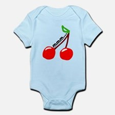 'Mmm...Cherries' Infant Bodysuit