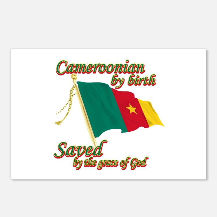 Cameroonian by birth Postcards (Package of 8)