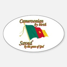 Cameroonian by birth Decal