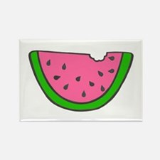 'Colorful Watermelon' Rectangle Magnet (10 pack)