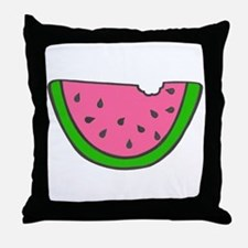 'Colorful Watermelon' Throw Pillow