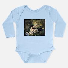 Cute Picnic Long Sleeve Infant Bodysuit