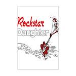 Rockstar Daughter Mini Poster Print