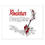 Rockstar Daughter Small Poster