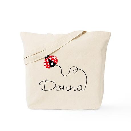 Ladybug Donna Tote Bag