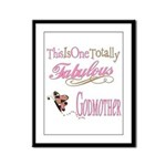 Fabulous Godmother Framed Panel Print