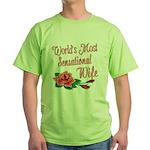 Sensational Wife Green T-Shirt