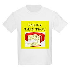christian cheese joke T-Shirt
