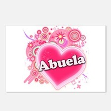 Abuela Heart Art Postcards (Package of 8)