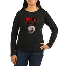 Loved by a Bichon Frise T-Shirt
