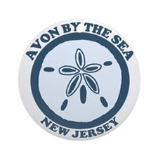 Avon NJ - Sand Dollar Design Ornament (Round)