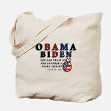 Obama Biden - Bad Men Tote Bag