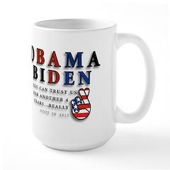 Obama Biden - Bad Men Mug