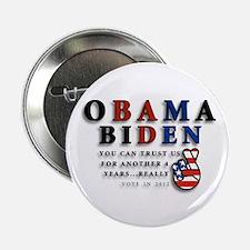 """Obama Biden - Bad Men 2.25"""" Button"""