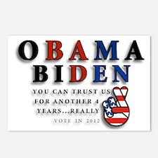 Obama Biden - Bad Men Postcards (Package of 8)