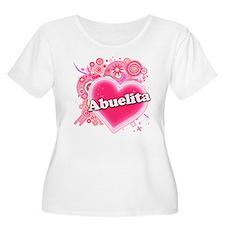 Abuelita Heart Art T-Shirt