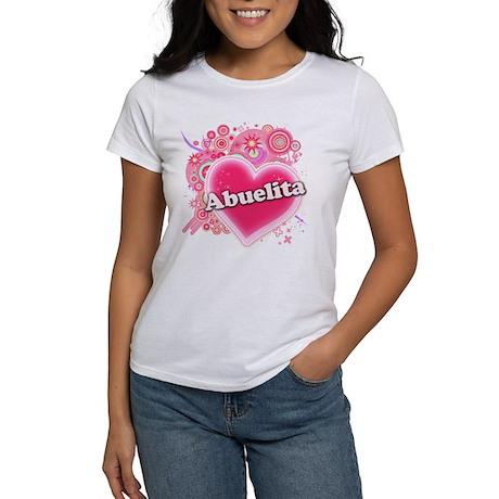 Abuelita Heart Art Women's T-Shirt
