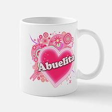 Abuelita Heart Art Mug
