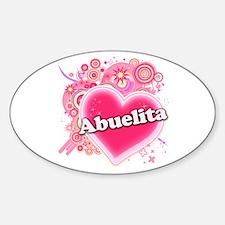 Abuelita Heart Art Decal