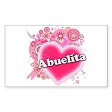 Abuelita Heart Art Decal