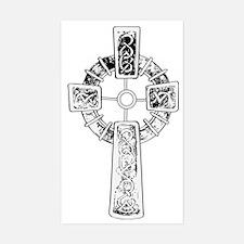 Christ follower Sticker (Rectangle)