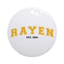 The Rayen School Ornament (Round)
