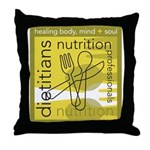 Dietitians and Nutrition Prof Throw Pillow