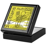 Dietitians and Nutrition Prof Keepsake Box