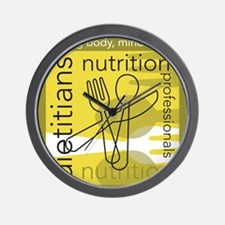 Dietitians and Nutrition Prof Wall Clock