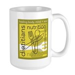 Dietitians and Nutrition Prof Large Mug