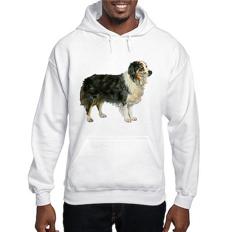 Aspen, Austrailian Shepherd Hooded Sweatshirt