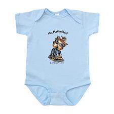 Yorkie Manipulate Infant Bodysuit