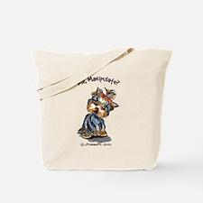 Yorkie Manipulate Tote Bag