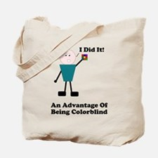 One Advantage of Being Color Tote Bag