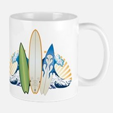 Surfboards Small Small Mug