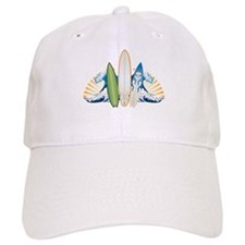 Surfboards Baseball Cap