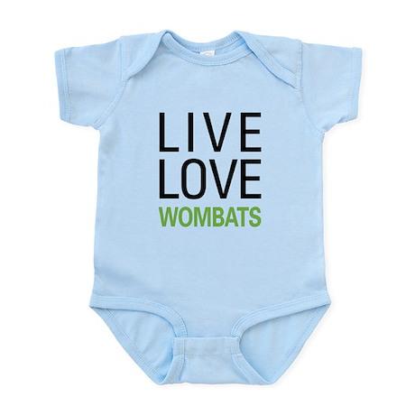Live Love Wombats Infant Bodysuit