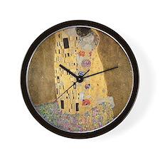 Cute Kissing couple Wall Clock