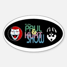 The Paul & Kurt Show Decal