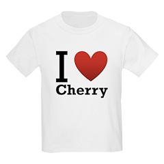 I Love Cherry T-Shirt