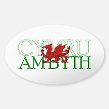 Cymru Am Byth Decal