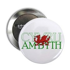 "Cymru Am Byth 2.25"" Button (10 pack)"